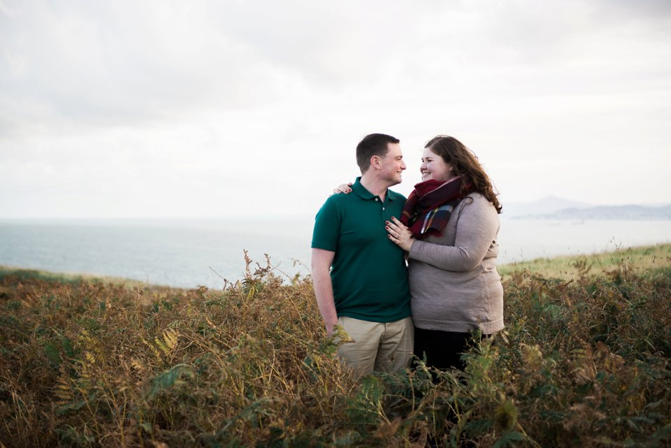 Howth Cliffs couple engaged