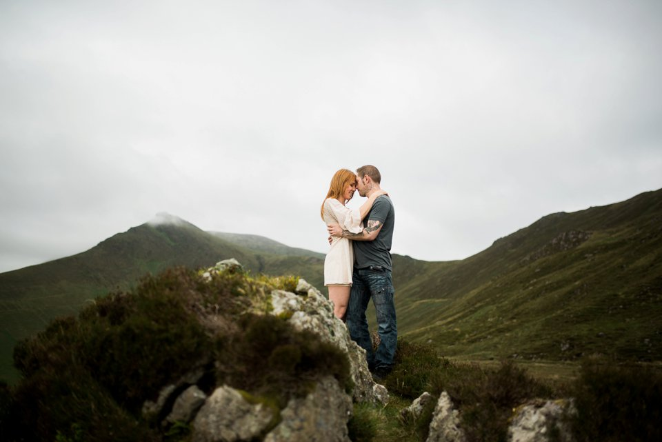 Kerry mountains couples shoot