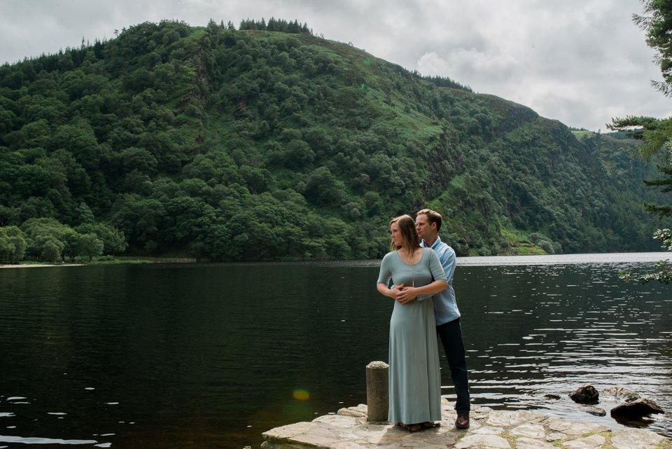 Engagement shoot at Glendalough