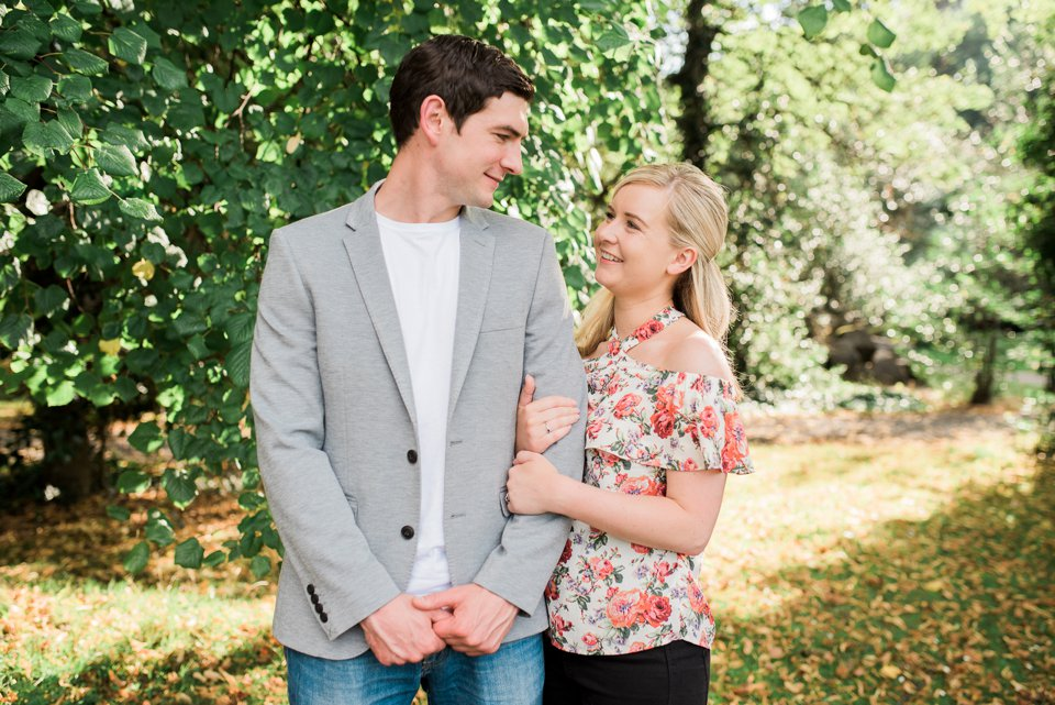 Iveagh Gardens Engagement Shoot