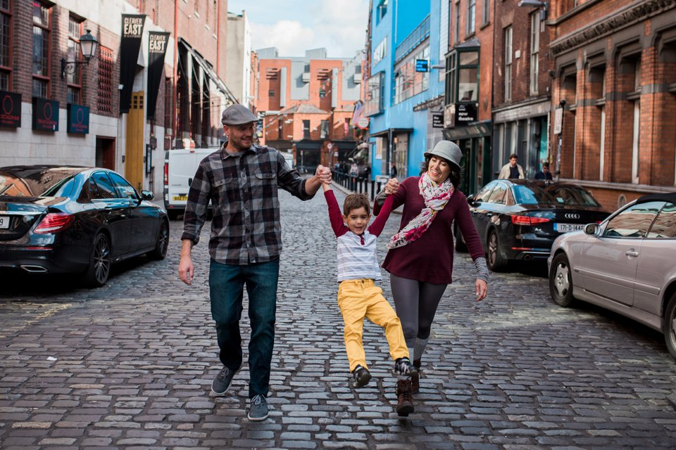 Family in Dublin City