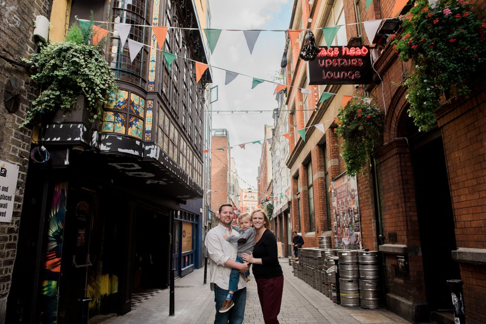 Family portraits in Dublin City