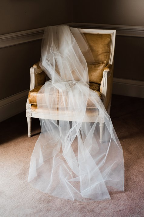Wedding veil in Carton House