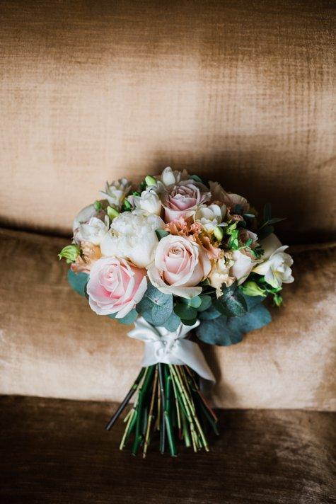 Wedding bouquet in Carton House