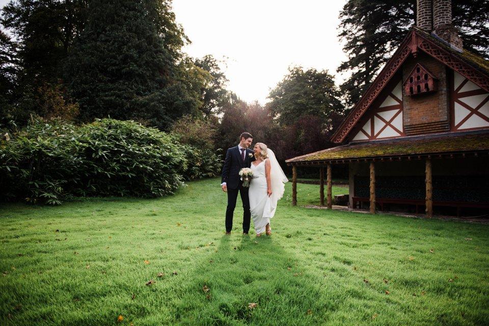 Bride and groom at Carton House Kildare