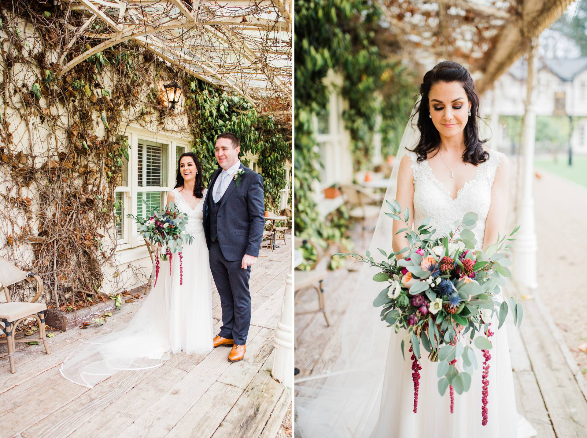multiple image collage by Kathy Silke photography Dublin wedding photographer
