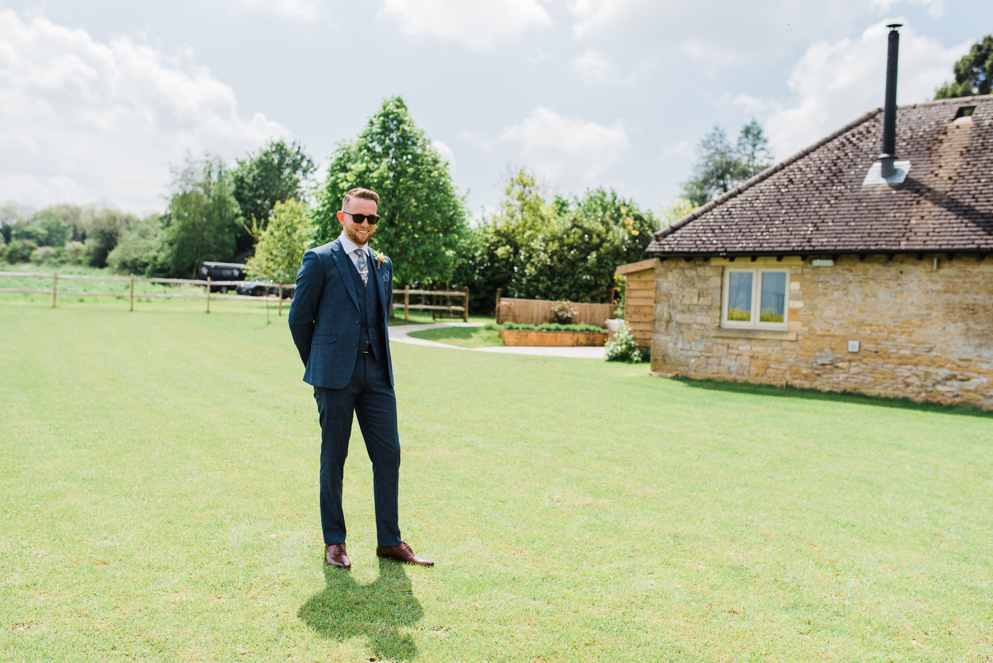 Groom at Lapstone Barn