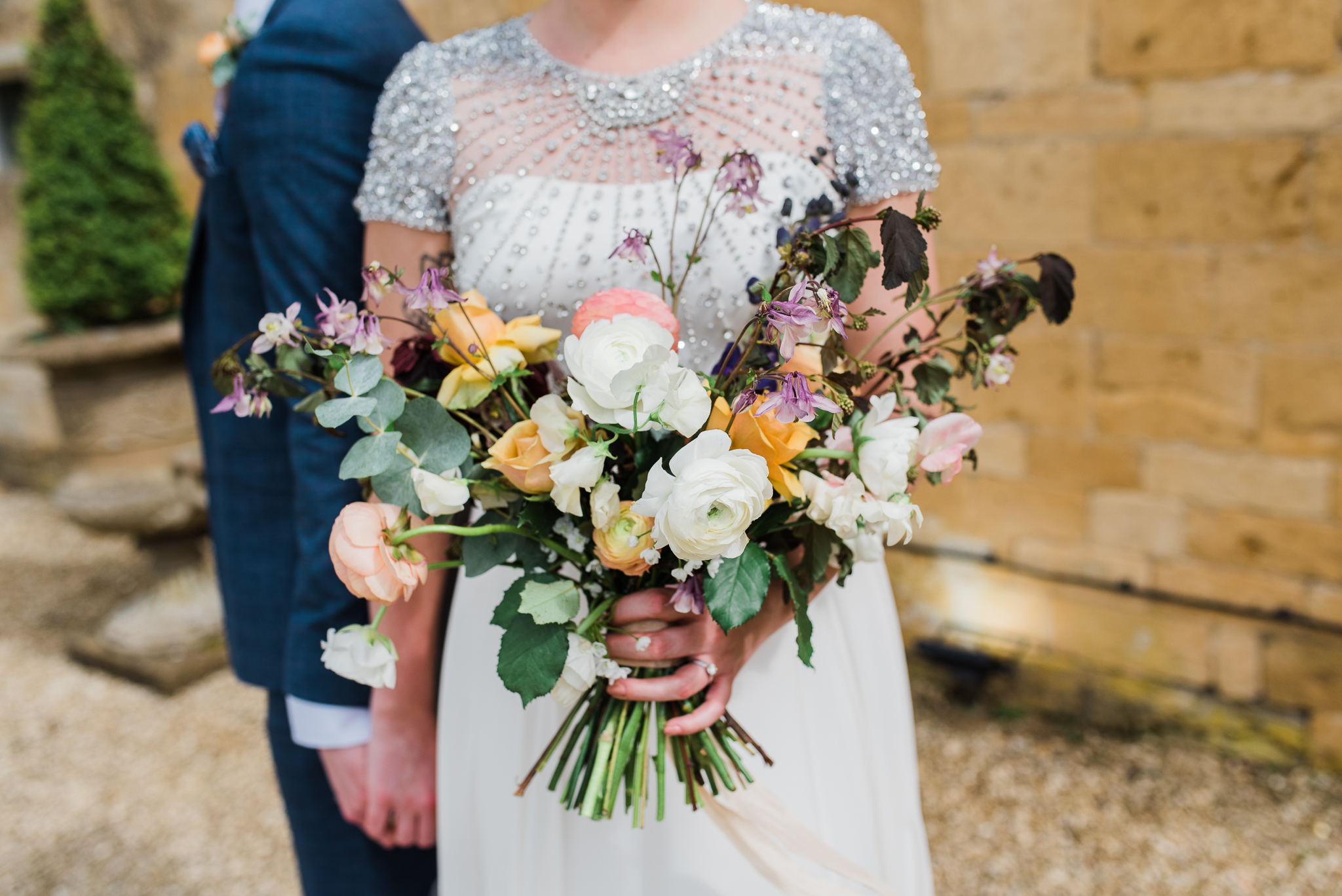 Wedding bouquet at Lapstone Barn