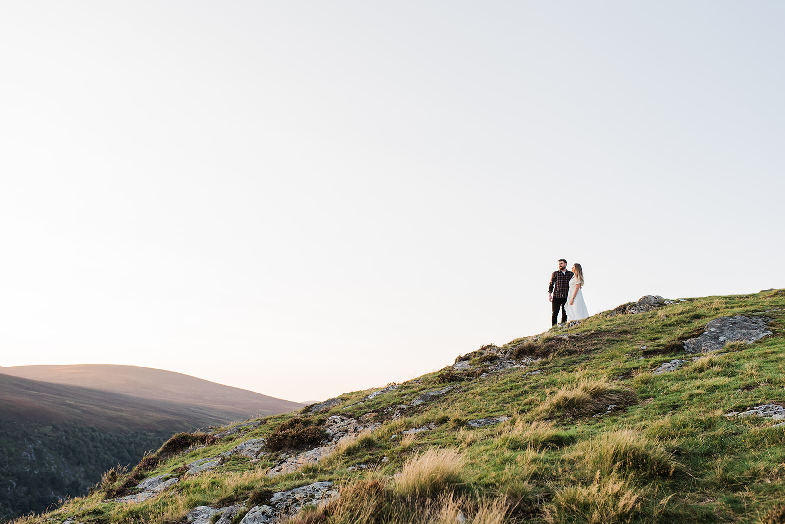 Lough Tay engagement shoot